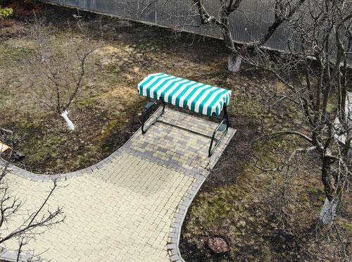 маркизная ткань для крыши качели