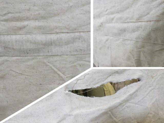 Ремонт пореза ПВХ тента