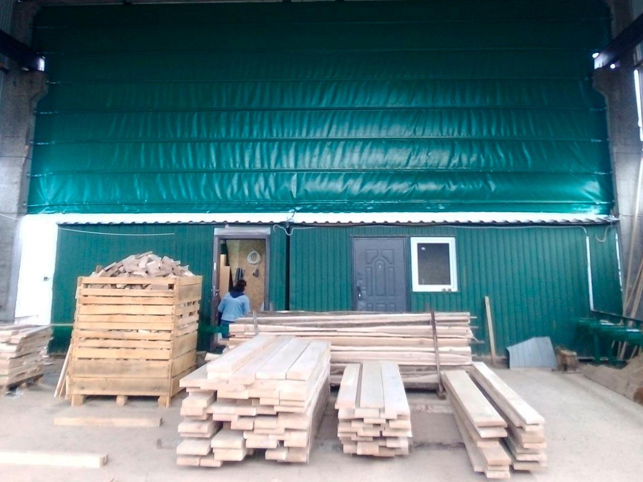 стены пвх на производстве